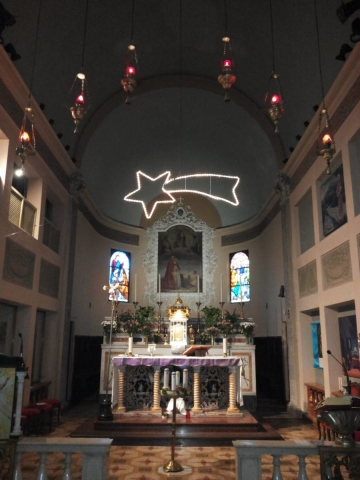 Chiesa Cognento Natale 2015 Stella Cometa