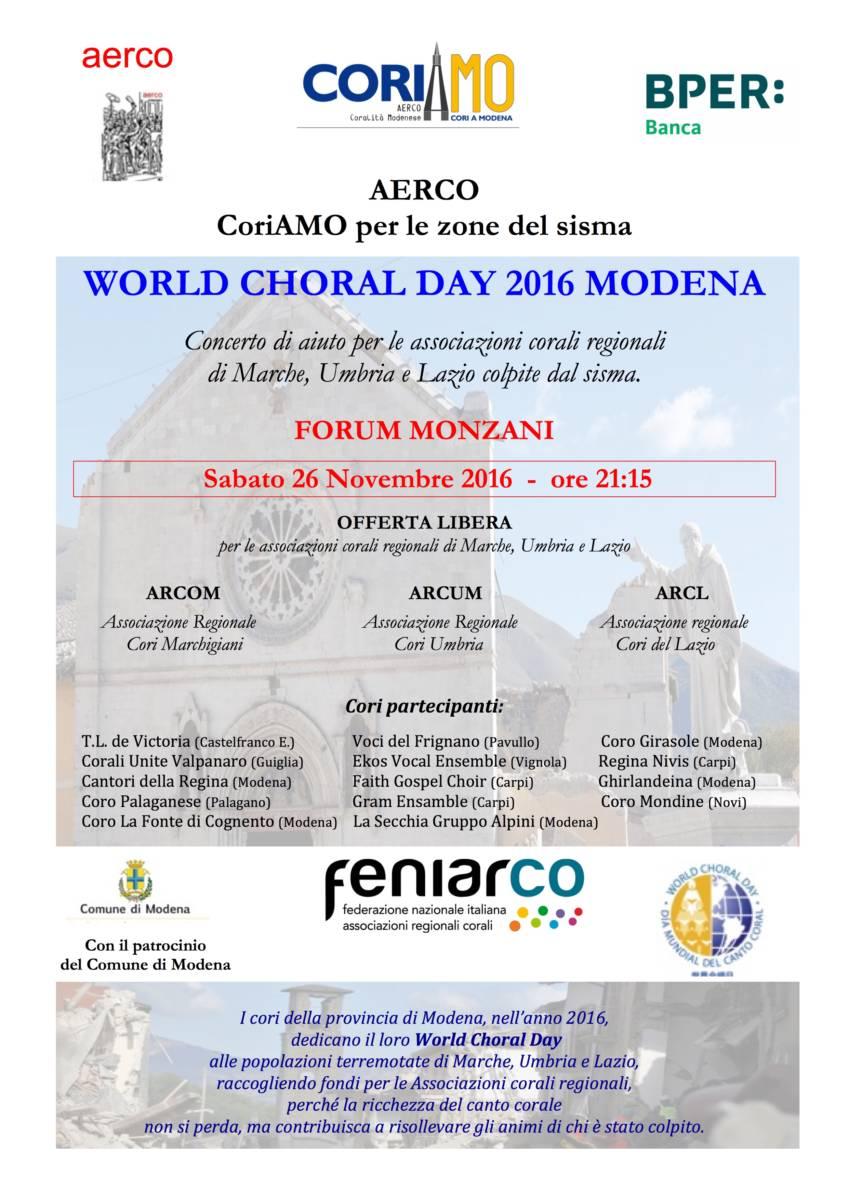 World Choral Day 2016 Coro La Fonte