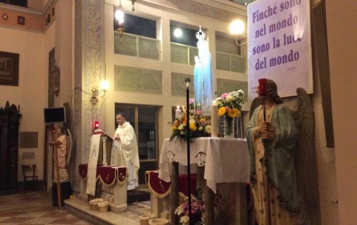 Pellegrinaggio Mariano vescovo Erio Castellucci - Cognento 2