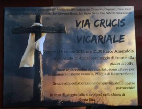 Via Crucis Vicariale 2018