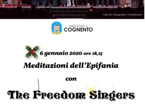 Meditazioni dell'Epifania: The Freedom Singers  Ore 18:15