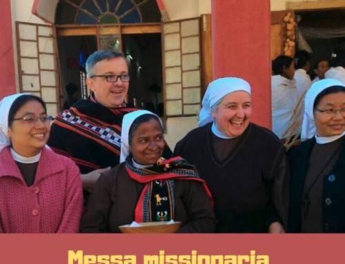 Lunedì 13  Gennaio ore 19:00  Messa Missionaria e testimonianza dall'india