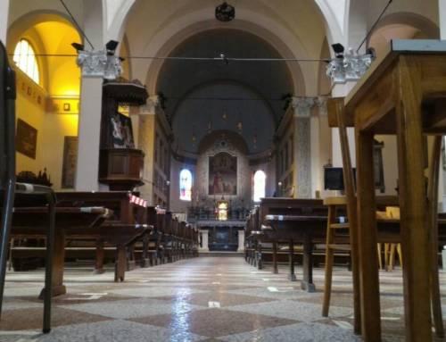 Ripresa celebrazioni liturgiche in chiesa lunedì 18 Maggio 2020